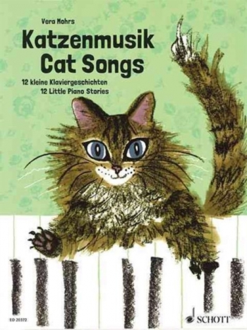 Cat Songs: 12 Little Piano Stories (Vera Mohrs) (Schott)