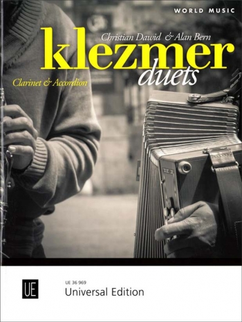 Klezmer Duets For Clarinet & Accordion (Universal)