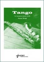 Tango Saxophone Quartet Score And Parts SATB