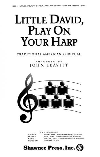 Little David, Play On Your Harp: Vocal: SATB (Shawnee Press)