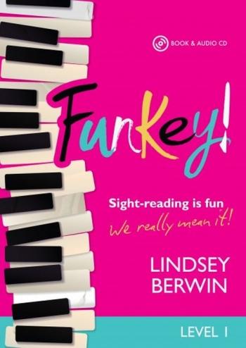 Funkey! - Level 1 Sight-reading Is Fun Piano Book & Audio CD (Berwin) (Mayhew)