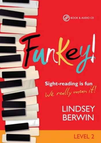 Funkey! - Level 2 Sight-reading Is Fun Piano Book & Audio CD (Berwin) (Mayhew)