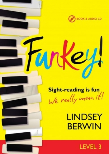 Funkey! - Level 3 Sight-reading Is Fun Piano Book & Audio CD (Berwin) (Mayhew)
