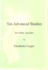 Ten Advanced Studies For Treble Recorder