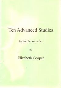 Ten Advanced Studies For Treble Recorder