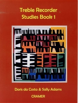 Treble Recorder Studies Book 1 (Da Costa/Adams) (Cramer)