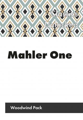Flexible Ensemble: Mahler One, Inspiration By The Ton! Woodwind Version Score & Parts (Spa