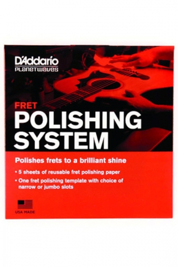 Fret Polishing System By D'Addario/Planet Waves