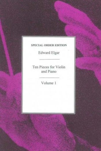 Ten Pieces For Violin Vol. 1: Violin & Piano (Thames)