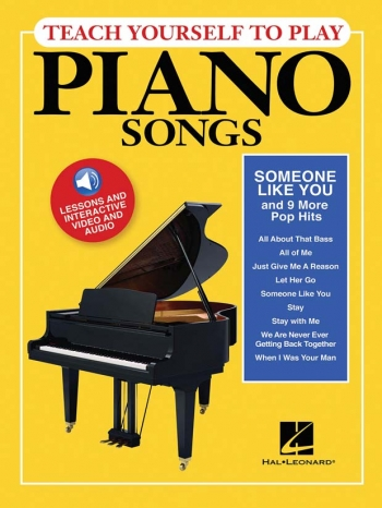 Teach Yourself To Play Piano Songs: Someone Like You And 9 More Pop Hits Bk & Online
