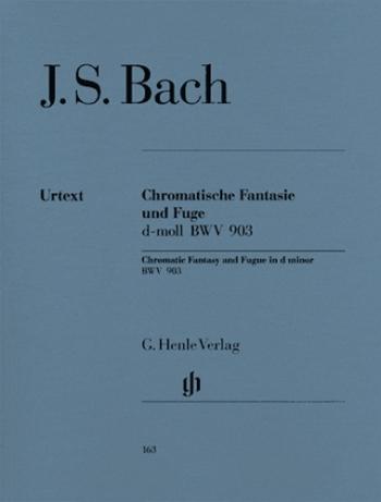 Chromatic Fantasy And Fugue D Minor: Piano (Henle)
