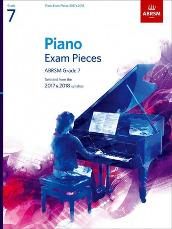 ABRSM Piano Exam Pieces 2017 & 2018 Grade 7 Book Only