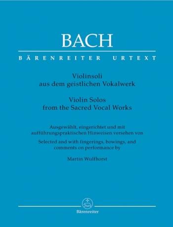 Violin Solos From The Sacred Vocal Works (Barenreiter)
