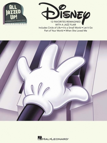 All Jazzed Up - Disney! Piano Solo (Hal Leonard)