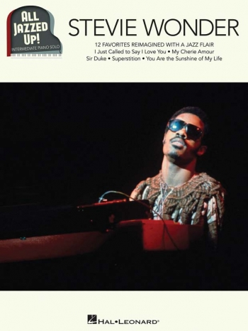 All Jazzed Up -Stevie Wonder! Piano Solo (Hal Leonard)