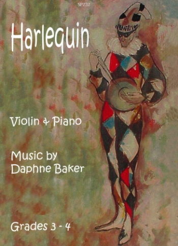 Harlequin  For Violin & Piano (Baker)(Spartan)