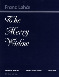 Merry Widow: Vocal Score (Amateur Version) (Parks) (Glocken Verlag )