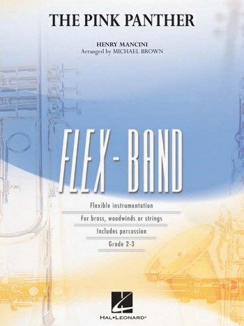 The Pink Panther: Flex Band Ensemble: Score And Parts ( Arr  Brown)