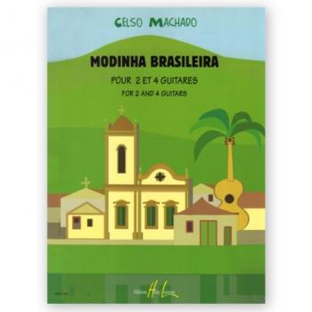 Machado: Modinhas Brasileiras 2 & 4 Guitares (Lemoine)