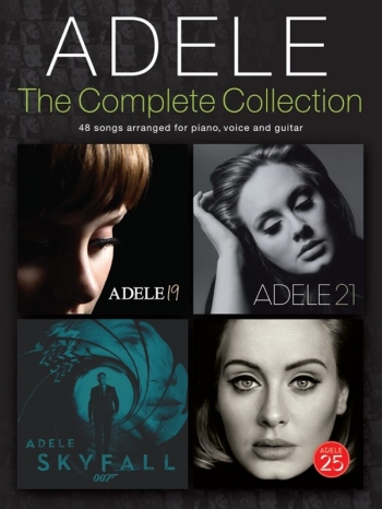 Adele: The Complete Collection: Piano Vocal Guitar
