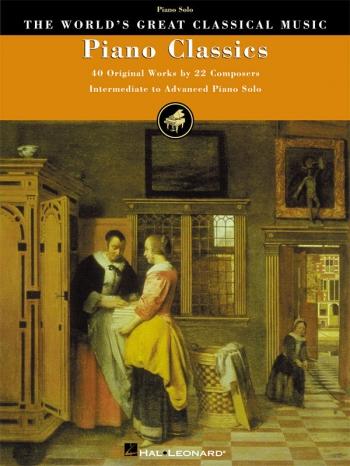 Piano Classics: 40 Original Works By 22 Composers  (Hal Leonard)