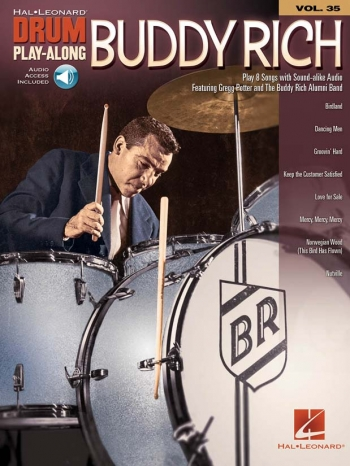 Drum Play-Along Volume 35: Buddy Rich (Book/Online Audio)
