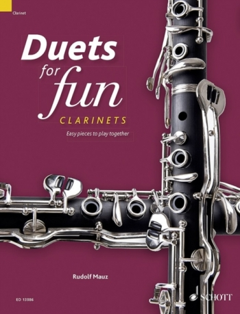 Duets For Fun: Clarinets Easy Pieces To Play Together (Schott)