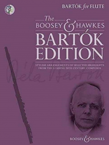Bartók For Flute: Flute & Piano With Audio CD (Boosey & Hawkes)