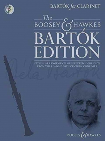 Bartók For Clarinet: Clarinet & Piano With Audio CD (Boosey & Hawkes)
