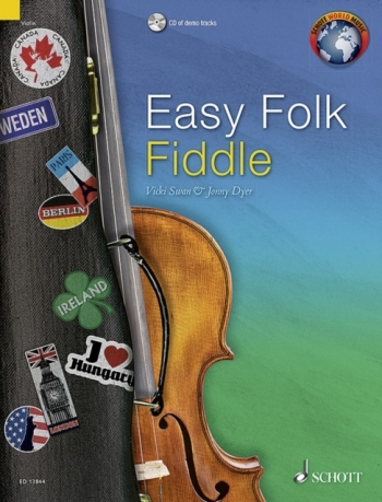 Easy Folk Fiddle: Traditional Pieces Book & Cd (Schott)