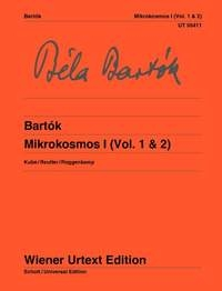 Mikrokosmos Band I (Vol. 1 & 2) Piano (Wiener)
