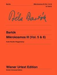 Mikrokosmos Band III (Vol. 5 & 6) Piano (Wiener)