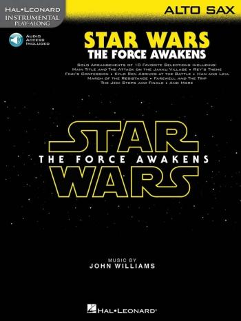 Instrumental Play-Along: Star Wars - The Force Awakens: Alto Saxophone Book & Online Audi
