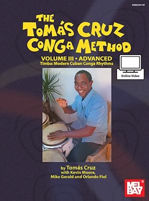 Tomas Cruz Conga Method: Volume 3 - Advanced