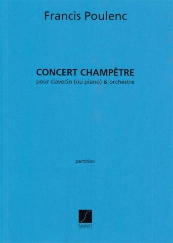 Concert Champetre Partition Clavecin Ou Piano Et (Salabert)