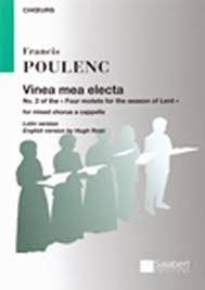 Vinea mea electa: Vocal SATB a Cappella (Salabert)
