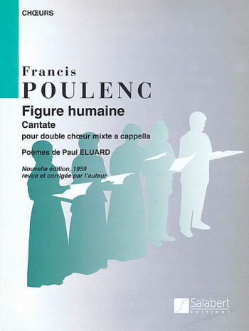 Figure Humaine: Vocal SATB divisi (Salabert)