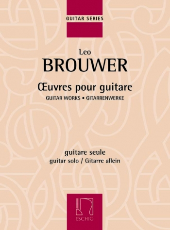 Oeuvres Pour Guitare: Guitar: (Eschig)