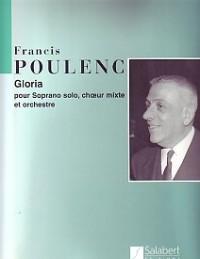 Gloria: Orchestra, Soprano Voice, SATB  (Salabert)