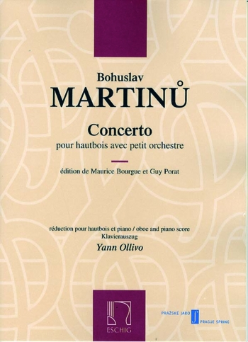 Concerto: Oboe and Piano (Eschig)