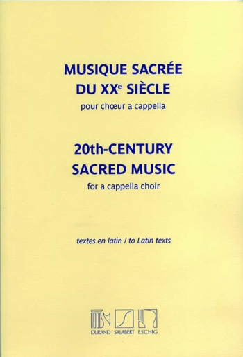 20th-Century Sacred Music: Vocal SATB  (Durand)