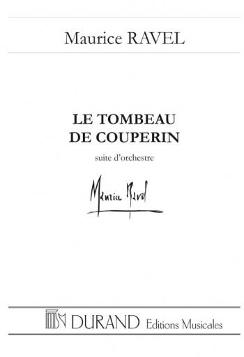 Le tombeau de Couperin: Orchestra (Durand)