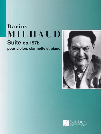 Suite Op.157b: Violin, Clarinet, Piano (Salabert)