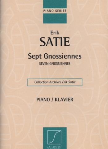 Sept Gnossiennes - Seven Gnossiennes: Piano (Salabert)