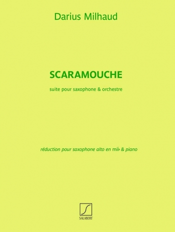 Scaramouche: Alto Saxophone and Piano (Salabert)