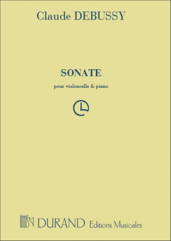 Sonate: Violoncello and Piano (Durand)
