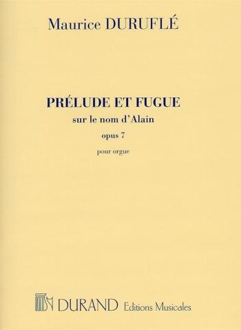 Prélude et Fugue Opus 7: Organ (Durand)