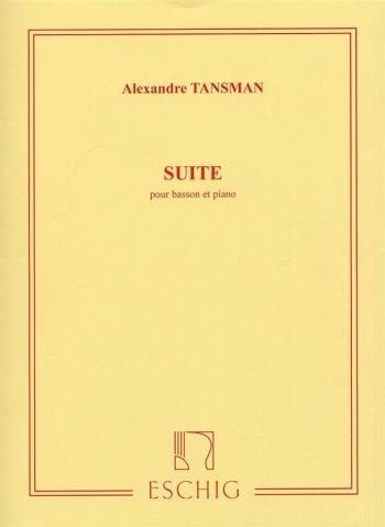 Suite: Bassoon and Piano (Eschig)