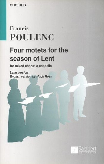 Four Motets For The Season Of Lent: SATB a Cappella (Salabert)