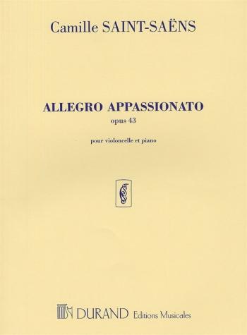 Allegro Appassionato Op.43: Violoncello and Piano: (Durand)